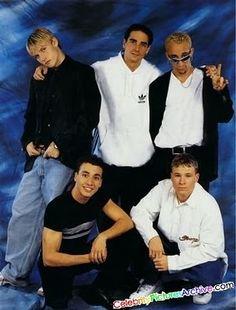 My first love the backstreet boys it feels like the 90's again(^.^)