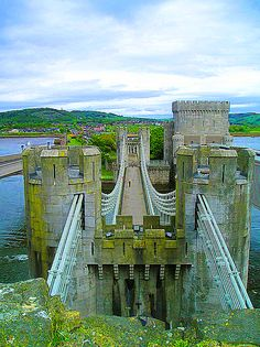 Conwy Castle - Address: Rose Hill St, Conwy LL32 8AY, United Kingdom - Conwy Castle is a medieval fortification in Conwy, on the north coast of Wales. It was built by Edward I, during his conquest of Wales, between 1283 and 1289  12-15-2014