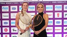 Elena Vesnina, Ekaterina Makarova and plenty of WTA stars took a break from their St Petersburg Ladies Trophy preparations to stop at the Four Seasons for the Players' Gala Dinner.