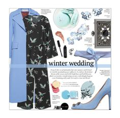 """""""winter wedding - guest style"""" by federica-m ❤ liked on Polyvore featuring Marni, MANGO, Gucci, Virginie Castaway, Lydell NYC, ALDO, French Toast, Bobbi Brown Cosmetics, Stila and Charlotte Tilbury"""