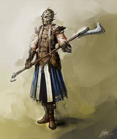 Elf-fighter by Kailyze on deviantART