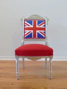 British Flag Union Jack Chair