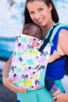 Canvas - Mom's Milk Boutique exclusive 'UpTown Trunk' TULA BABY CARRIER