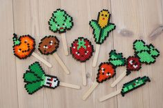 bead embroidery patterns on fabric Melty Bead Patterns, Bead Embroidery Patterns, Hama Beads Patterns, Beading Patterns, Art Patterns, Painting Patterns, Color Patterns, Bracelet Patterns, Mosaic Patterns