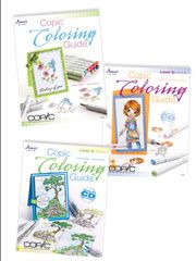Card Paper Crafts - Copic Coloring Guide Combo - #701027X