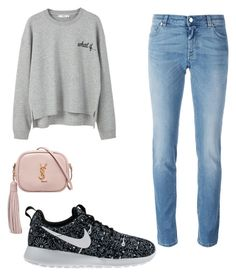 """""""Cool days"""" by nariviahoyos on Polyvore featuring MANGO, Givenchy, Yves Saint Laurent and NIKE"""