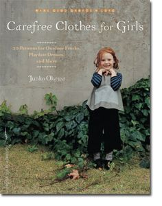 This book has all the patterns and instructions for adorable and beautiful girl's clothing.  A beautiful addition to my sewing and craft book collection.