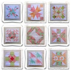 Threadbare Creations- Chatelaine Free BOW Sampler Quilt Blocks 55-63