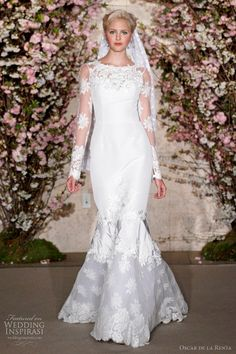 Oscar De La Renta Spring 2012 Wedding Dresses | Wedding Inspirasi