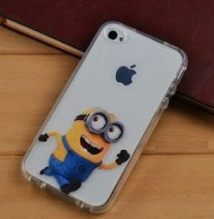 ## DESPICABLE ME MINIONS Mobile Phone TPU Case Cover for iPhone 4 4S