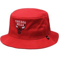 Men's '47 Red #Chicago Bulls Backboard Bucket Hat from $31.99