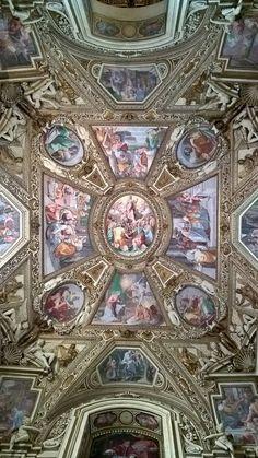 Foto di Simone Hahner. Santa Maria in Trastevere.La cappella Altemps.