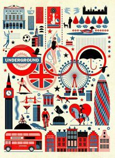 london olympics illustration