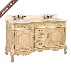 Love the idea of a  Vintage/Antique Buffets as a Vanity