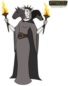 Mythology - Hecate by HewyToonmore