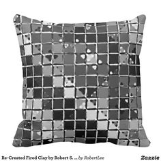Re-Created Fired Clay by Robert S. Lee Pillows #Robert #S. #Lee #pillow #art #artist #graphic #design #colors #kids #children #girls #boys #style #throw #cover #for #her #him #gift #want #need #abstract #home #office #den #family #room #bedroom #living #customizable