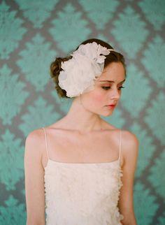 silk flower headband