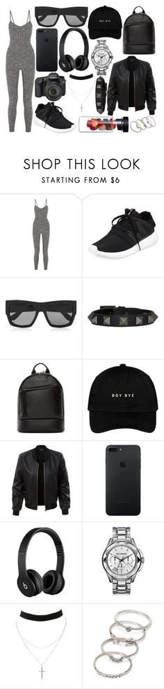"""""""295."""" by plaraa on Polyvore featuring moda, Live the Process, adidas, Gucci, Valentino, Want Les Essentiels de la Vie, LE3NO, Eos, Karl Lagerfeld y Charlotte Russe"""