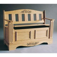Buy Woodworking Project Paper Plan to Build Blanket Chest/Bench Plan, Plan No. 789 at Woodcraft.com
