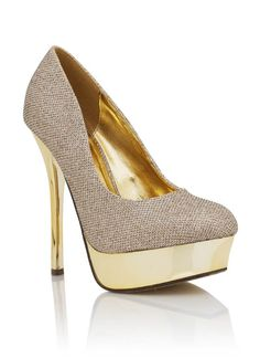 ARE YOU KIDDING ME! glitter platforms $29.10