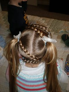 zig-zag braids ~ this lady is soooo creative! (instructions on at link)
