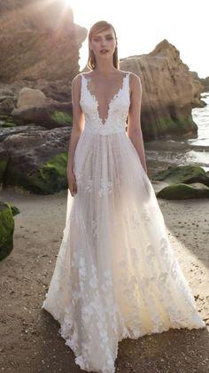 4de7aeb3984c Wedding dress idea  via Nurit Hen Best Wedding Dresses
