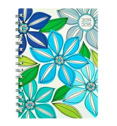 Whimsical Flower Medium Weekly/Monthly Planner by Studio C!  #planners #backtoschool #teachers