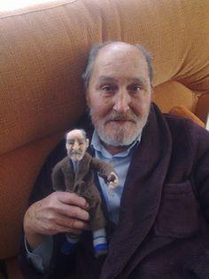 OOAK art doll,Personalized Custom  doll. Portrait fiber sculpture. €250,00, via Etsy.