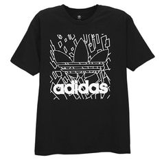 <p>Sport everyday swag with the adidas Originals Graphic T-Shirt.</p> <ul> <li>Screen-printed graphics on the front for style.</li> <li>100% cotton. Heather: 90% cotton/10% polyester. Imported.</li> </ul>