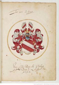 Wappen der Baron von Schönberg / Coat of Arms of The Baron von Schöneberg / Armas del Baron von Schönberg.