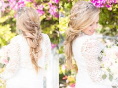 2017 Bridal hair and makeup looks - Key West Wedding Hair and Makeup Artistry by Elena Southcott