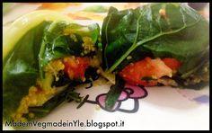 involtini maxi di quinoa e verdure by made in veg made in Yle #vegan #raw #gf #glutenfree