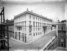 Largo da Academia Nacional de Belas Artes, Palácio Iglésias, séc XIX