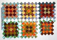 Sujata has great ideas for 2.5-inch squares: Basket full of Scraps...: Few ideas for scrap quilts