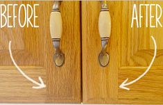 Secret to cleaning Gunky Kitchen Cabinets | 26 Clever Cleaning Tips You'll Love