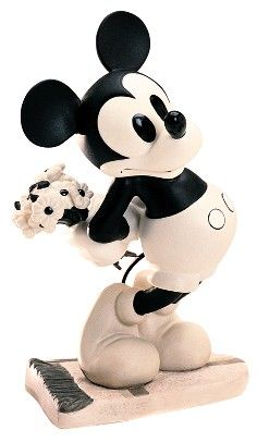 WDCC Puppy Love Mickey Mouse Brought You Something