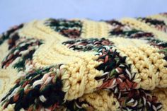 Cozy double thick large crochet afghan lap by ValkinThreads2, $365.00