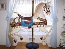 1884 LOOFF CAROUSEL HORSE. From Keansburg, NJ.