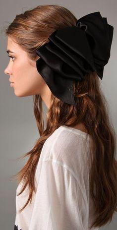 Eugenia Kim  Solid Kelly Ruffled Barrette  Style #:EUGEN30003