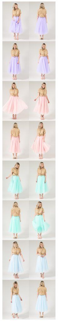 The Wendy Midi Tulle Skirt - Blush 32 - Space 46 Boutique