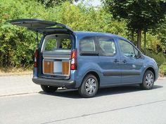 Reimo Minicamper Active auf Citroën Berlingo kurzer Radstand