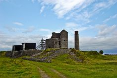 High on a moor in north Derbyshire are the ruins of Magpie Mine, a lead mine which last worked in the 1950's.