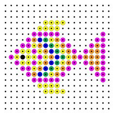 Fish perler bead pattern Hama Beads, Crafts For Kids, Arts And Crafts, Pixel Pattern, Cross Stitch Cards, Perler Patterns, Plastic Canvas Patterns, Math Resources, Beading Patterns