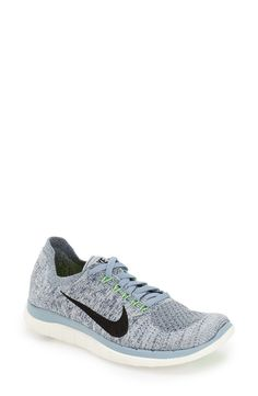 These Nike 'Free 4.0 Flyknit' running shoes are so fresh! Fashionably kicking the work out up a bit.