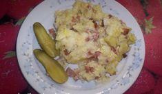 Šunkafleky | recept na zapečené těstoviny Eggs, Potatoes, Menu, Tasty, Vegetables, Breakfast, Recipes, Menu Board Design, Morning Coffee