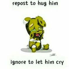 "Even if you posessed by a ""serial killer"" vut you still deserve a hug Springy"