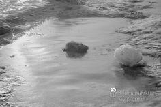 nice Fotografie »Ostsee @ Winter Nº 37«,  #Naturansichten #Schwarzweiß
