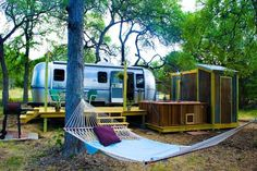 1BR/2BA Air Stream in Wimberley, Texas - Evolve Vacation Rental Network