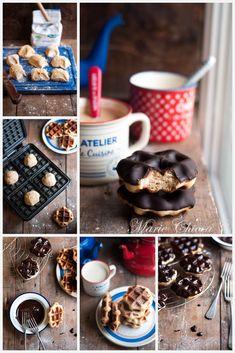 Gaufres de Liège à IG bas 1 Donuts, Healthy Snacks, Healthy Recipes, Vegan Kitchen, Beignets, Cookies Et Biscuits, Food Photo, Sweet Recipes, Sweets
