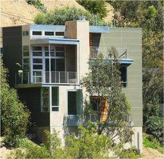 Alta Mesa Drive, Studio City, CA. By: Vanos Architects Unique Architecture, Interior Architecture, Interior Design, Studio City, Shelters, Dream Homes, Modern Contemporary, Buildings, Mid Century